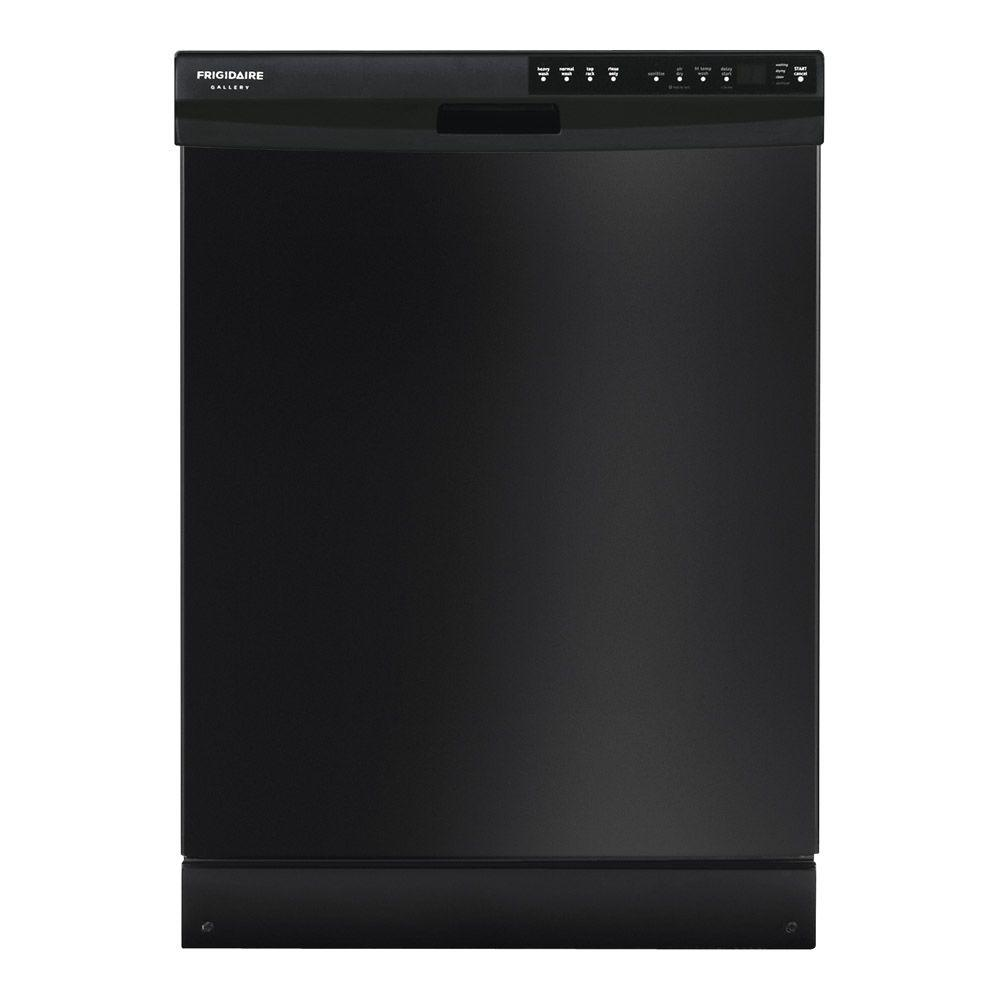 Frigidaire Gallery Front Control Dishwasher in Black