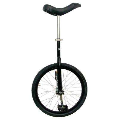 Fun Matte Black 20 in. Unicycle with Alloy Rim