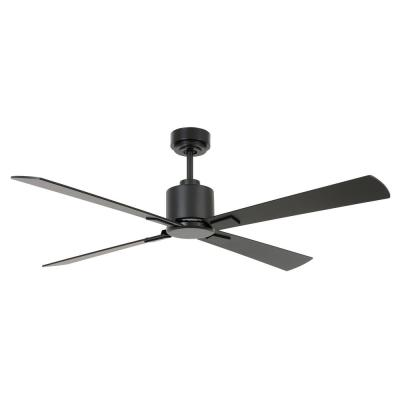 Climate 52 in. Black DC Ceiling Fan with Remote Control