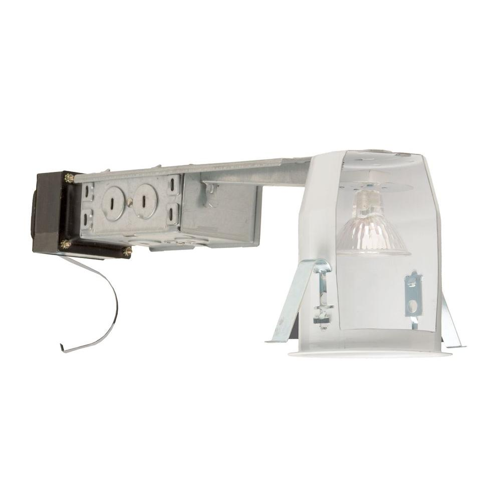 nicor 3 in recessed low voltage non ic rated housing 13000r the