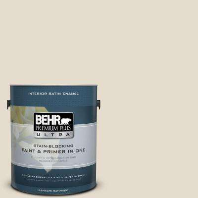 Home Decorators Collection 1 gal. #HDC-CT-05 Pale Palomino Satin Enamel Interior Paint and Primer in One