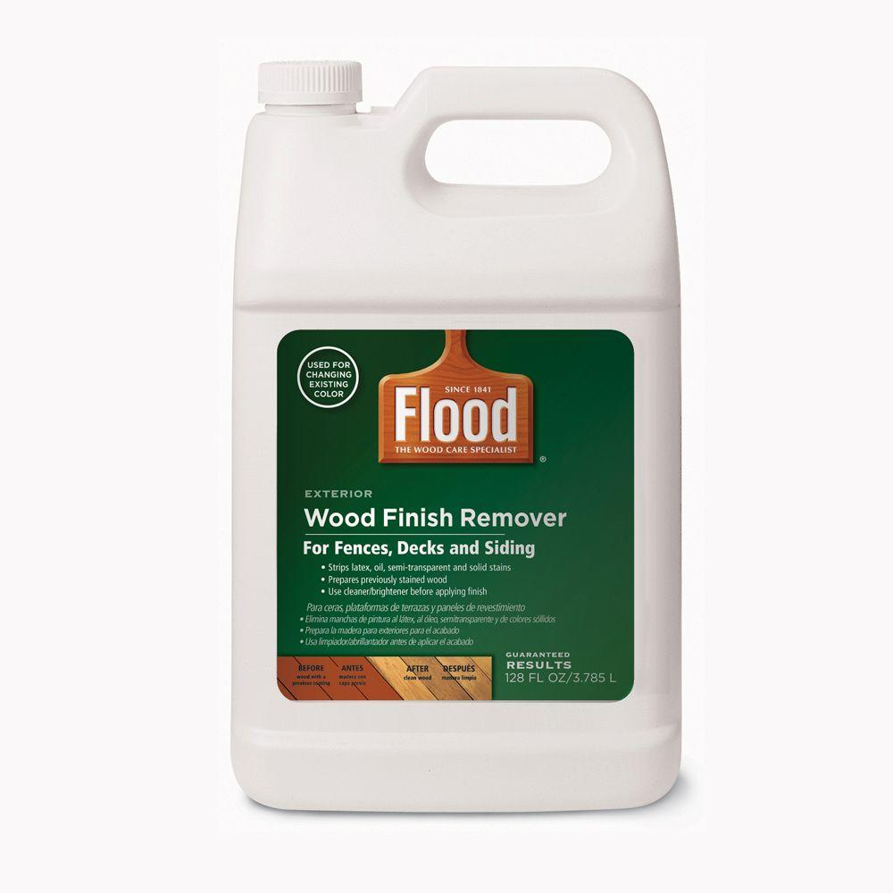 Flood 1-gal. Wood Finish Stripper-FLD900-000-01 - The Home Depot