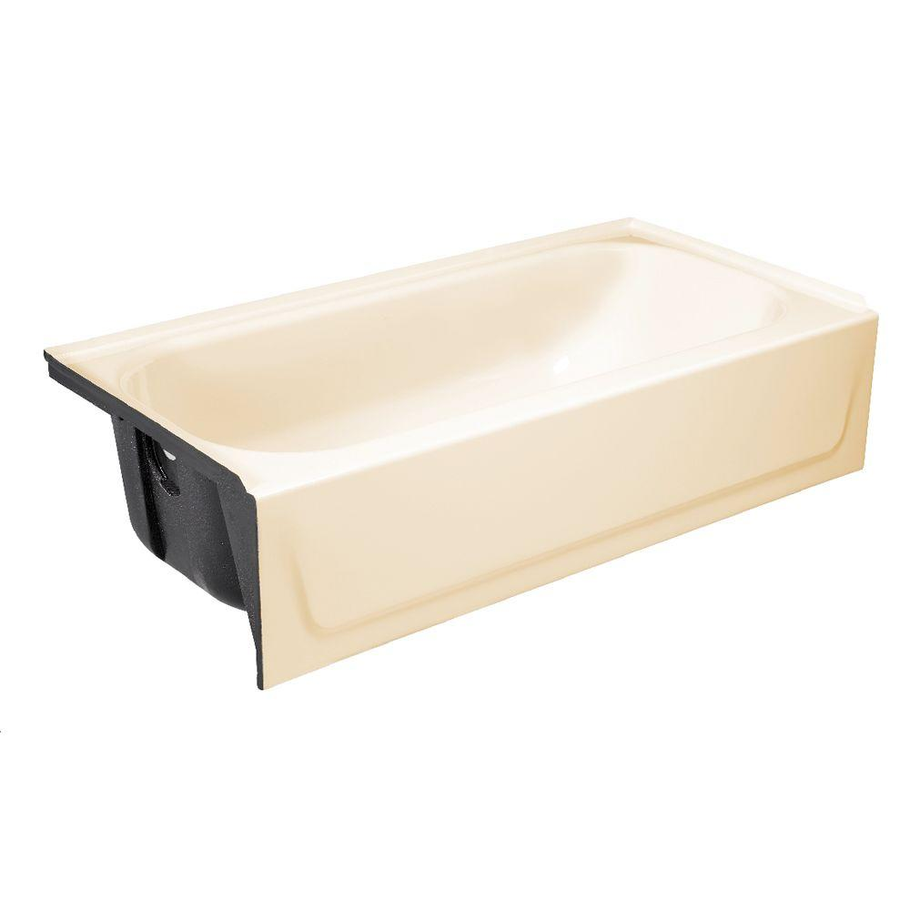 Bootz Industries Bootzcast 5 Ft Left Drain Soaking Tub In