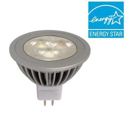 20W Equivalent Soft White (2900K) MR16 Narrow Flood LED Light Bulb