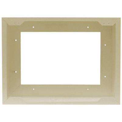Com-Pak Twin Metal Surface Mount Adapter in Almond