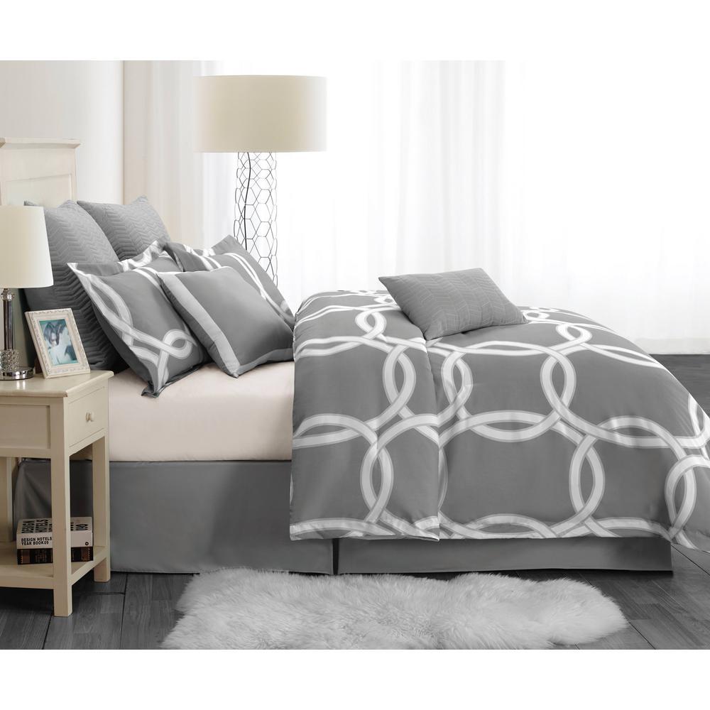 Kensie Redington Hotel Queen 8-Piece Comforter Set REDINGTON 4169=1