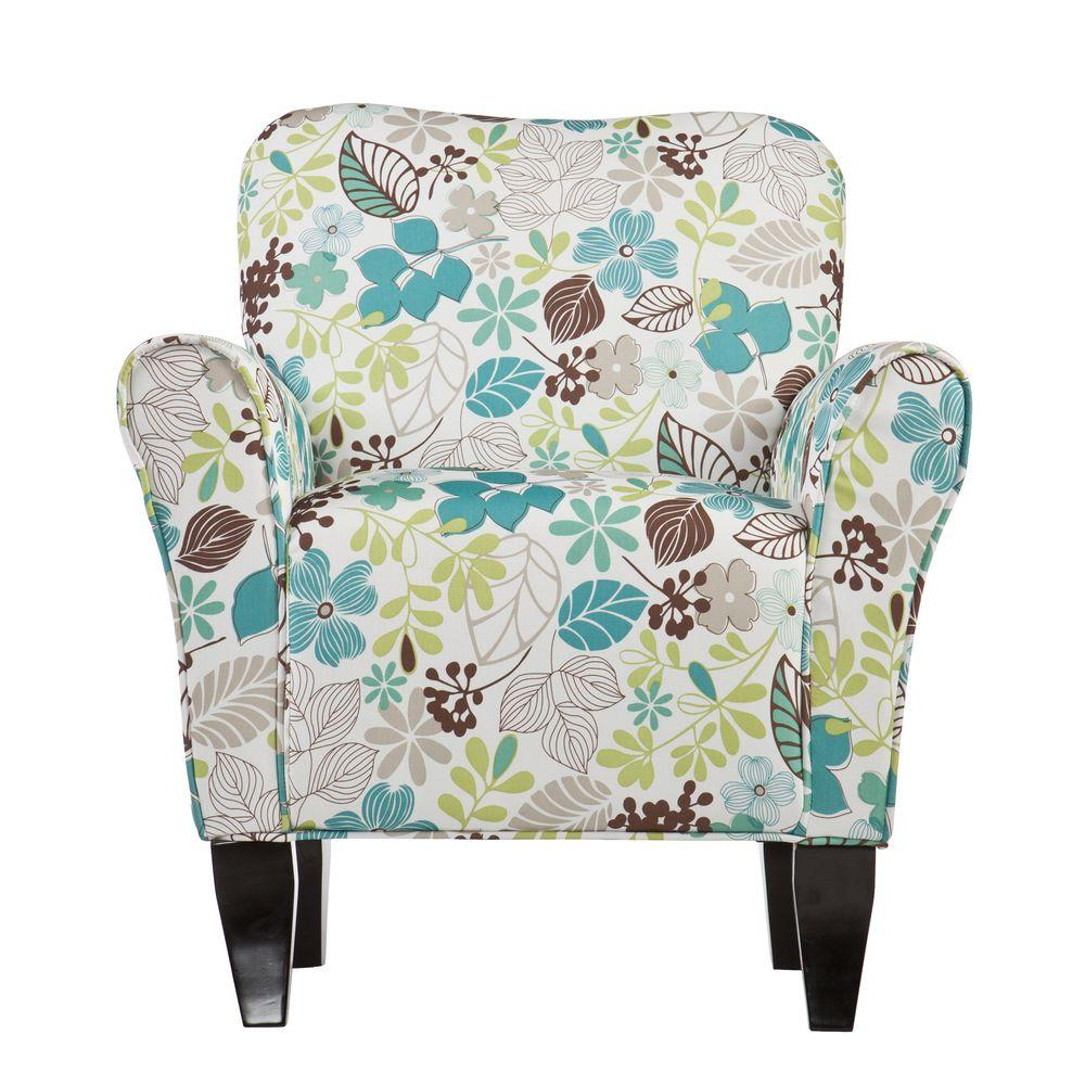 Southern Enterprises Jada Multi Color Polyester Arm Chair