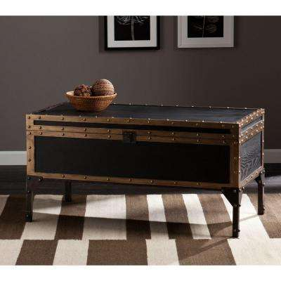 Irving Antique Black Coffee Table