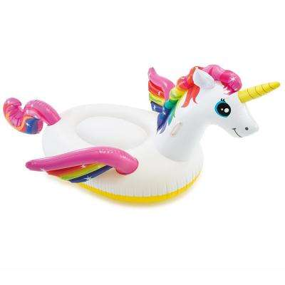 Unicorn Ride-On Pool Float