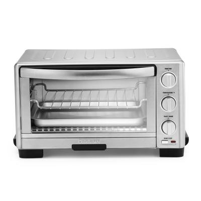 6-Slice Silver Toaster Oven Broiler