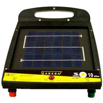 10 Mile Low Impedance Solar Fencer