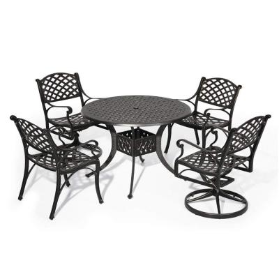 5-Piece Aluminum Outdoor Dining Set