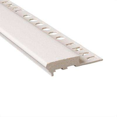 Novopeldano Maxi Sand 1/2 in. x 98-1/2 in. Composite Tile Edging Trim