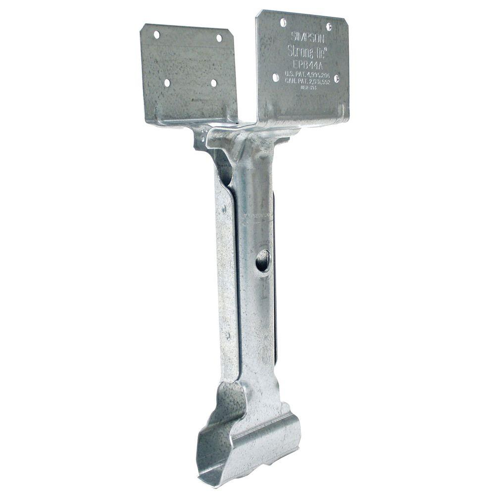 4 in. x 4 in. 14-Gauge Elevated Post Base