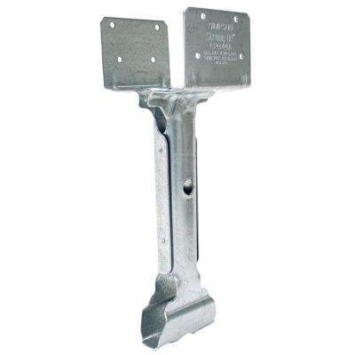EPB Galvanized Elevated Post Base for 4x4