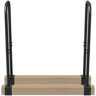 Lumberjack  15.7 in. x 3 in. x 40.9 in. Adjustable Log Rack