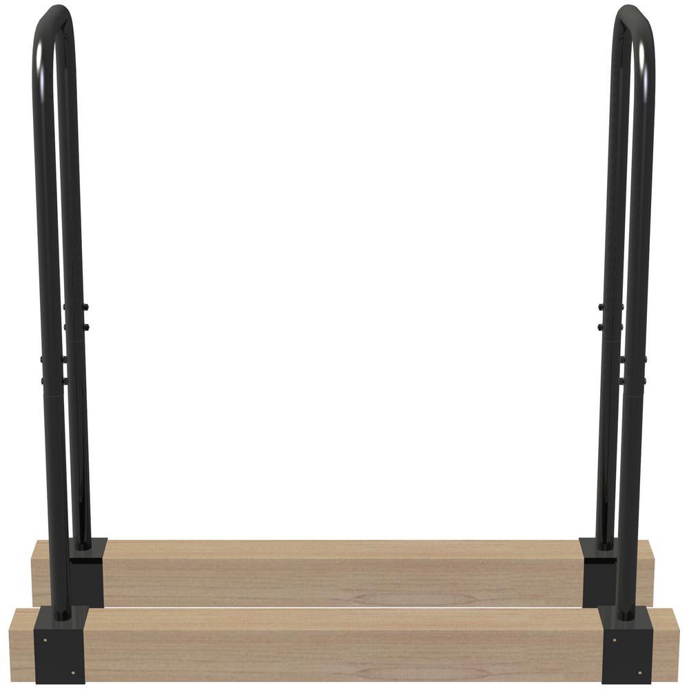 Lumberjack  15.7 in. x 3 in. x 40.9 in. Adjustable Log Rack