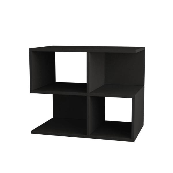 Ada Home Decor Sharon Anthracite Modern Side Table DCRS2007