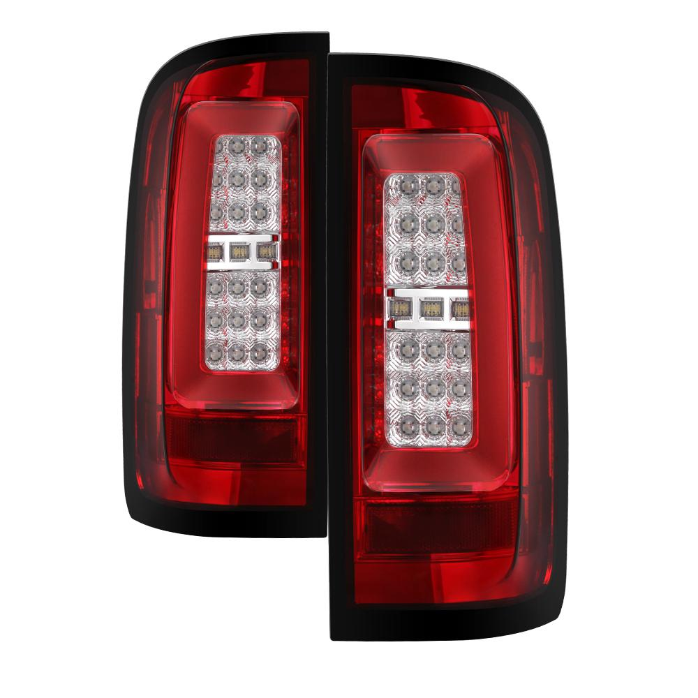 Car Tail Lights >> Spyder Auto Chevy Colorado 2015 2017 Led Tail Lights Red Clear