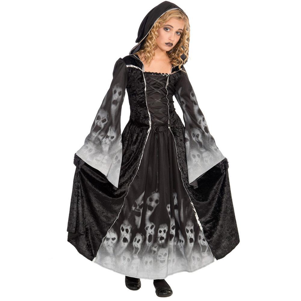 Unbranded Large Girls Forsaken Souls Kids Halloween Costume F70829 L The Home Depot