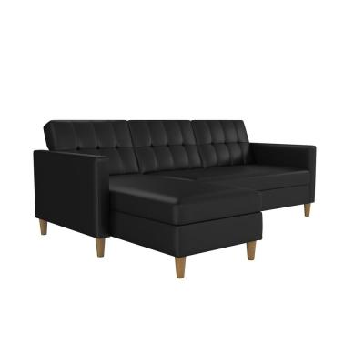 Faux Leather - Futons - Living Room Furniture - The Home Depot