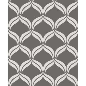 wallpapers for home interiors a petals grey ogee wallpaper 2697 22647 the home 22647