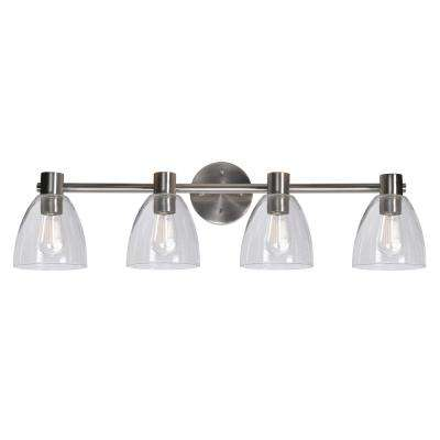Edis 4-Light Steel bath light Vanity