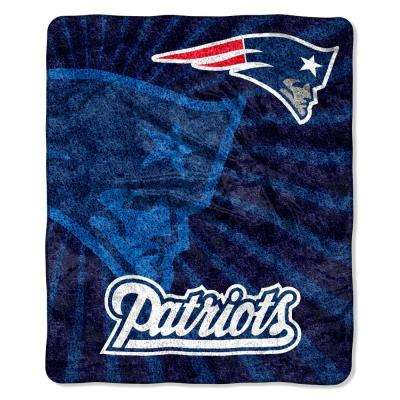 Patriots Sherpa Strobe Throw