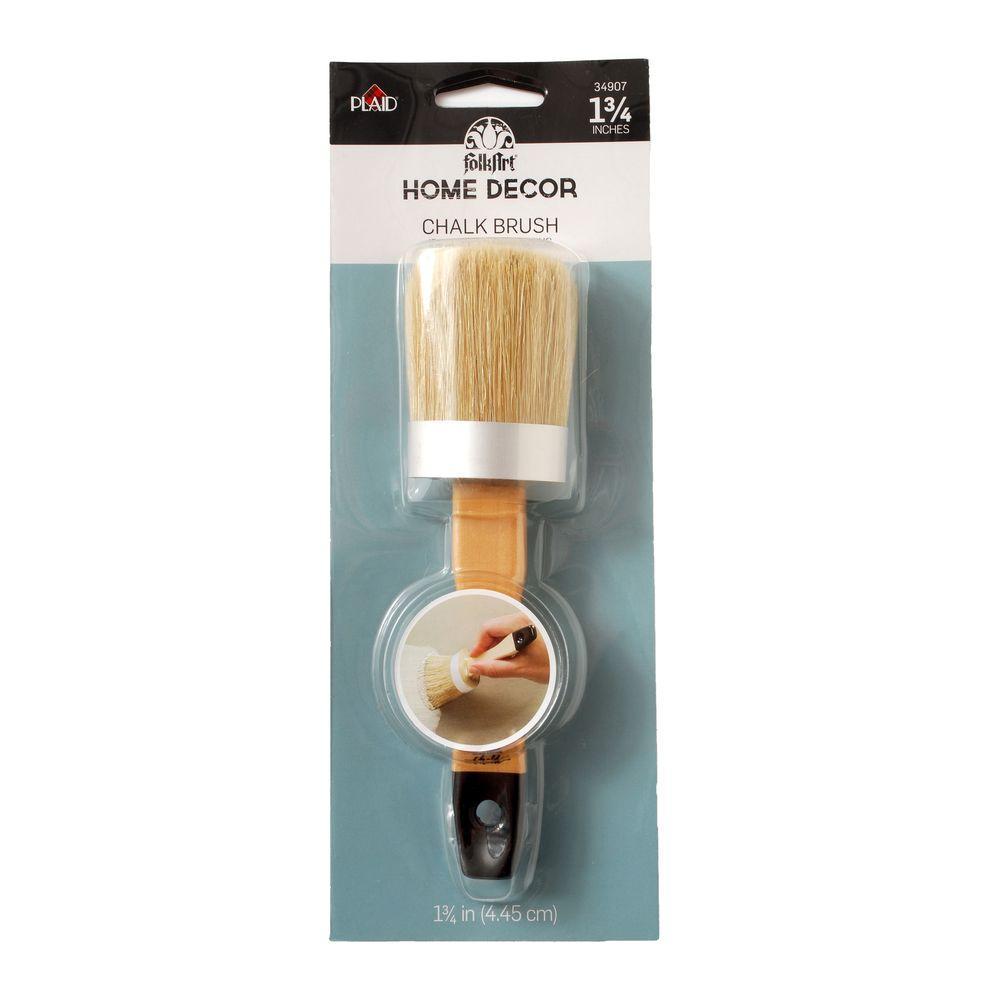 Home Decor 1 3 4 In Chalk Finish Brush