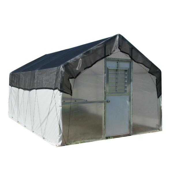 Carver Poly 10 ft. W x 16 ft. D x 8 ft. H Educational Greenhouse Kit