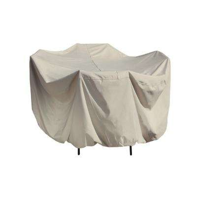 54 in. Round Patio Table and Chair Set Winter Cover
