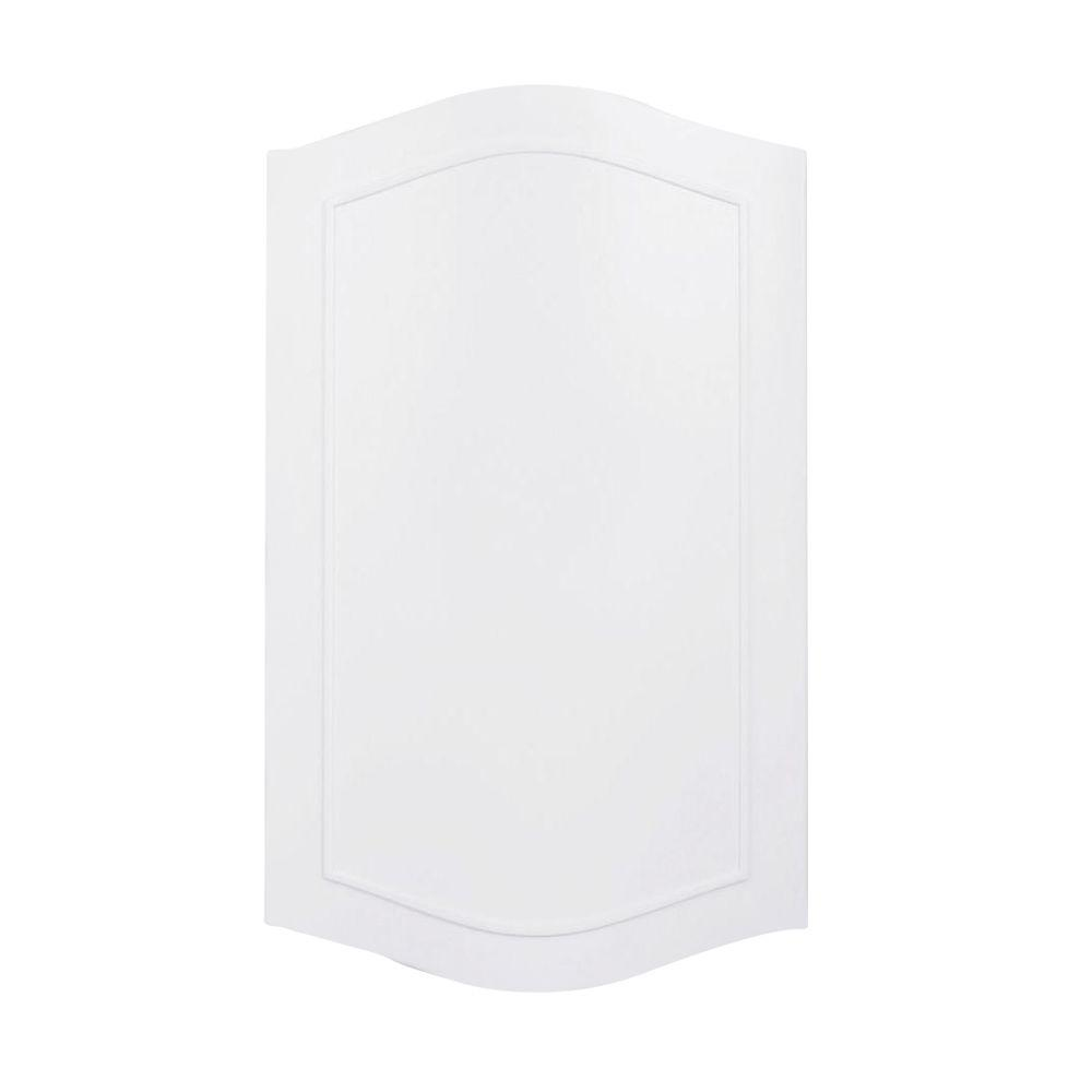 Heath Zenith Designer Series Colonial White Wired/Wireless Doorbell