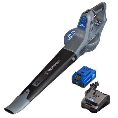 134 MPH 270 CFM 20-Volt Lithium-Ion Cordless Handheld Leaf Blower (4.0 Ah Battery and Charger Included)