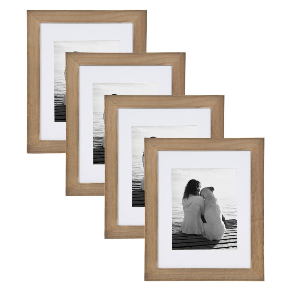 cce83853a2f4 Museum 11x14 matted to 8x10 Rustic Brown Picture Frame Set of