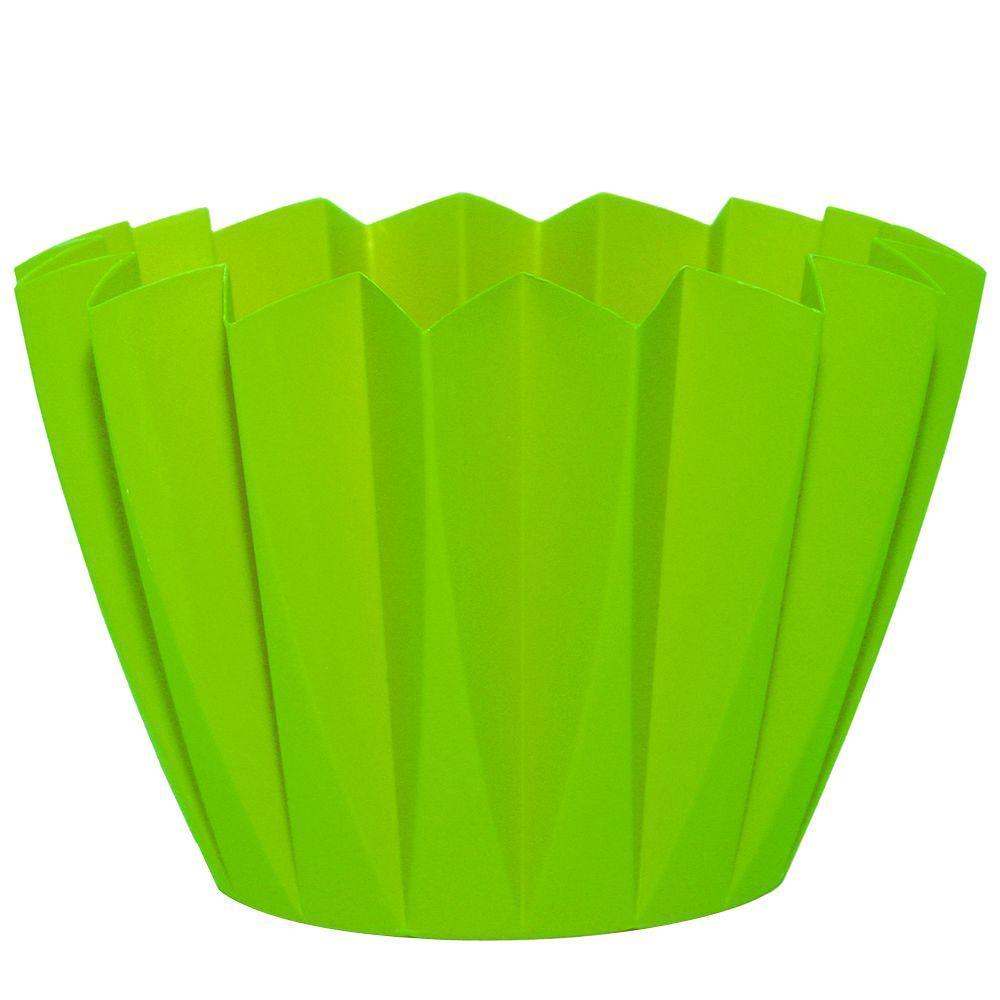 Attrayant Robert Allen Home U0026 Garden Starpoint 6 In. Dia Apple Green PVC Planter (20