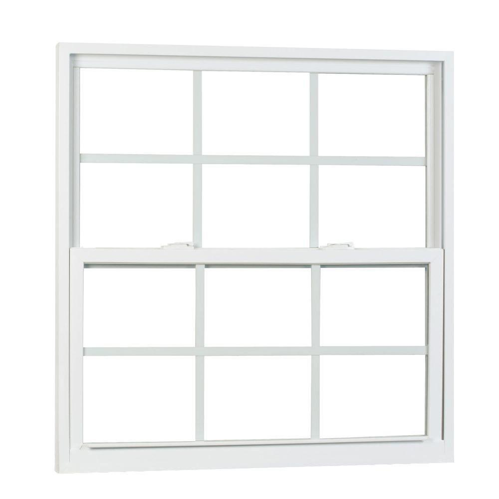 american craftsman windows home depot hung buck american craftsman 52 in 61875 50 series single hung vinyl window with