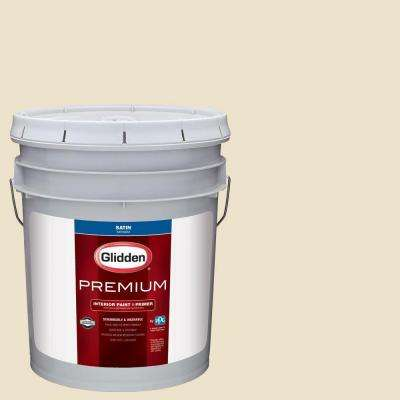 5 gal. #HDGWN45U Light Navajo Satin Interior Paint with Primer