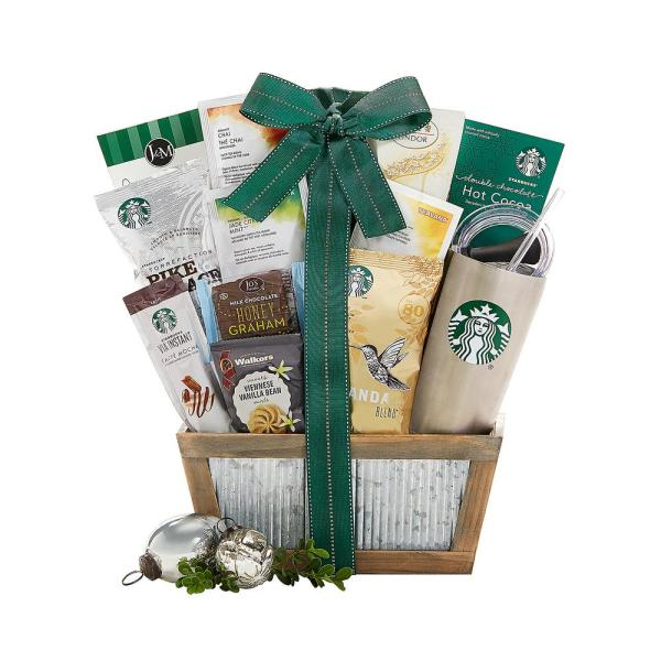 Gift Baskets Starbucks Coffee