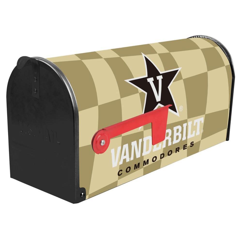 Brown Post Mount Vanderbilt University Mailbox