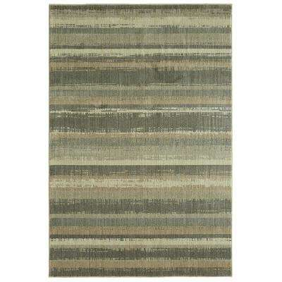 Montego Gray By Under The Canopy 5 ft x 8 ft. Indoor Area Rug