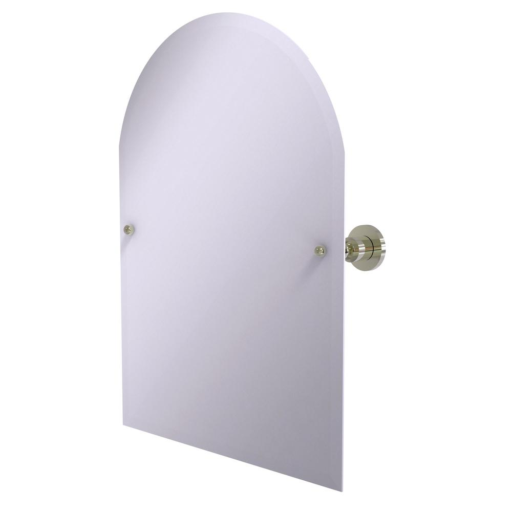 Allied Brass 21 in. x 29 in. Astor Place Frameless Arched...