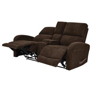 Fabulous Prolounger Chocolate Brown Chenille 2 Seat Recliner Loveseat Ocoug Best Dining Table And Chair Ideas Images Ocougorg