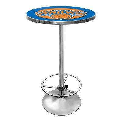 NBA New York Knicks Chrome Pub/Bar Table