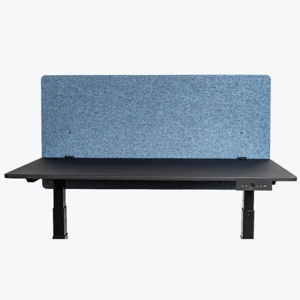 Luxor 48 in. x 24 in. Reclaim Pacific Blue Desktop Privacy