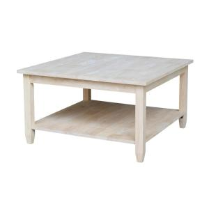 International Concepts-Solano Unfinished Coffee Table