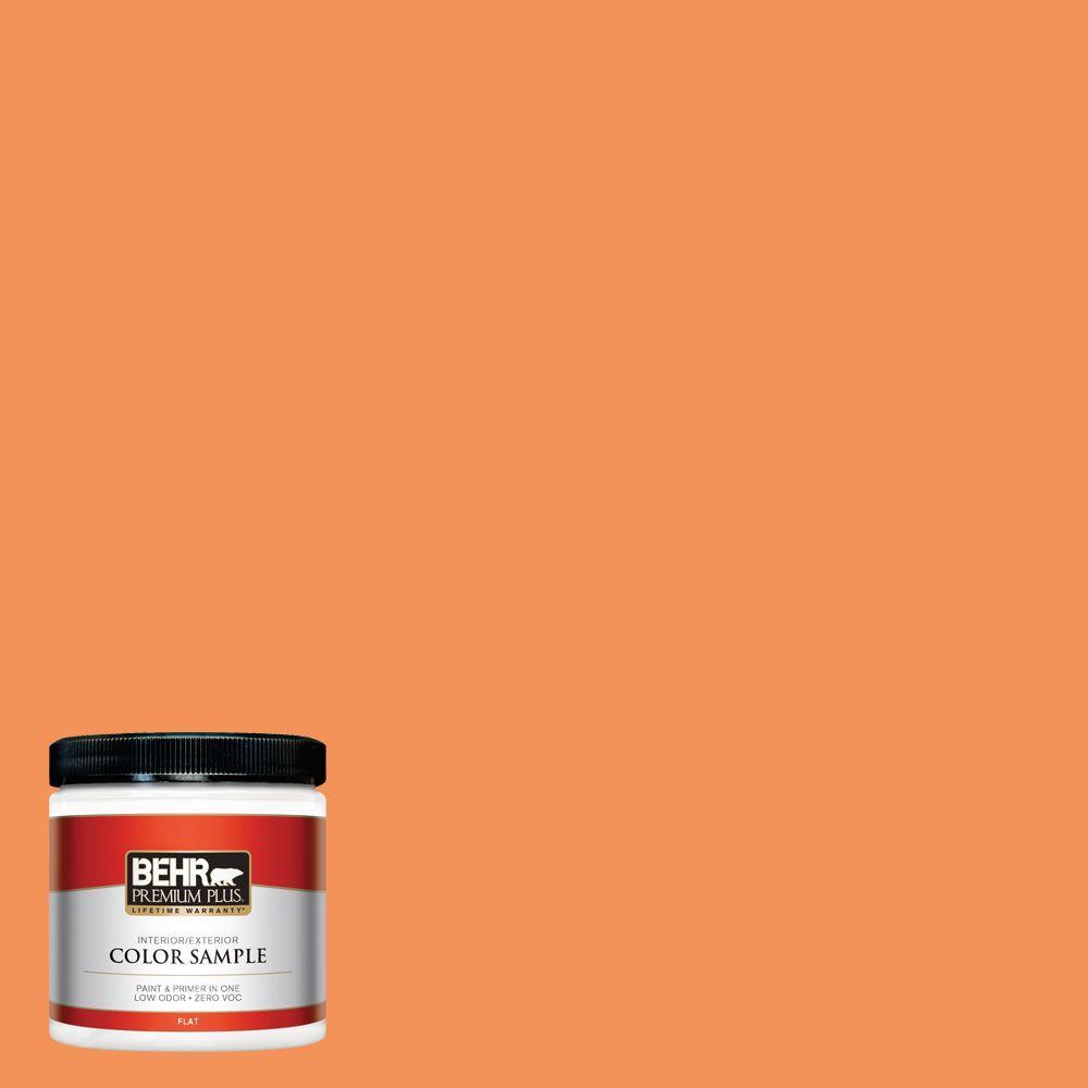 BEHR Premium Plus 8 oz. #240B-5 Candied Yam Interior/Exterior Paint Sample