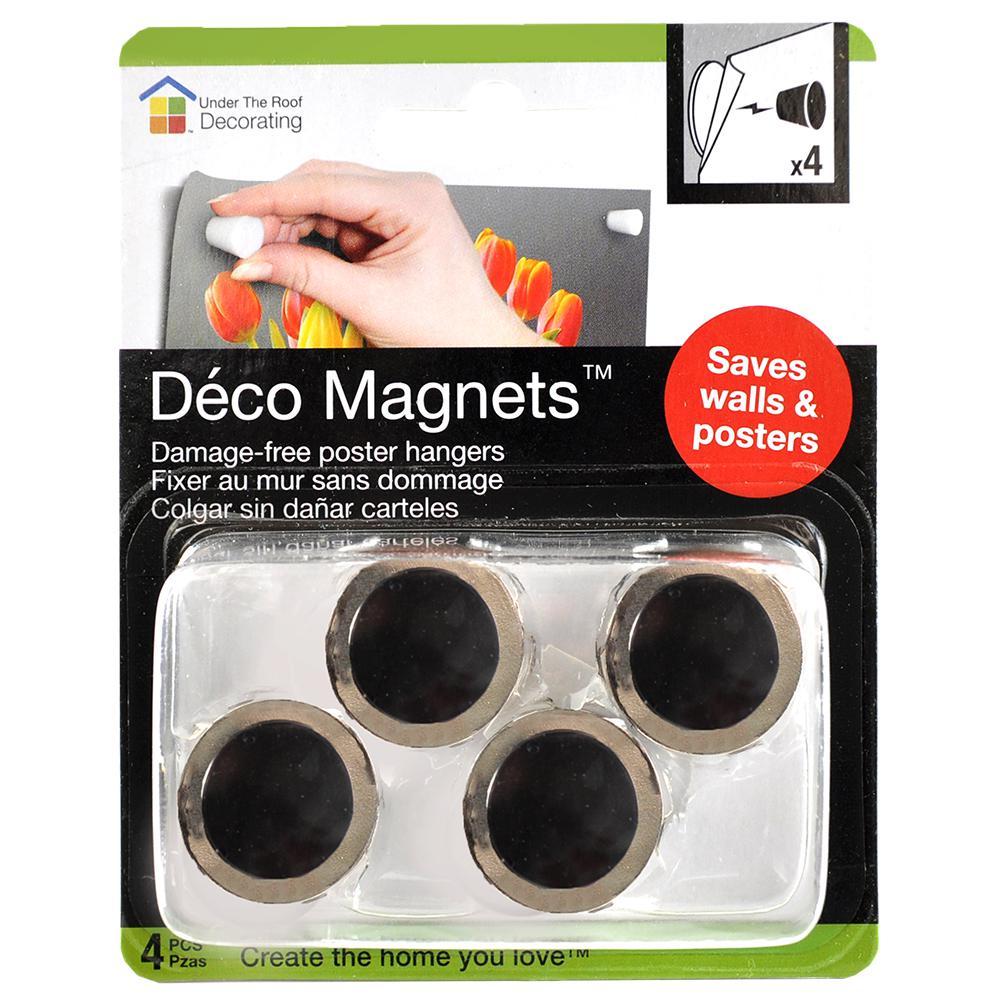 Damage Free Poster Hanging Deco Magnets