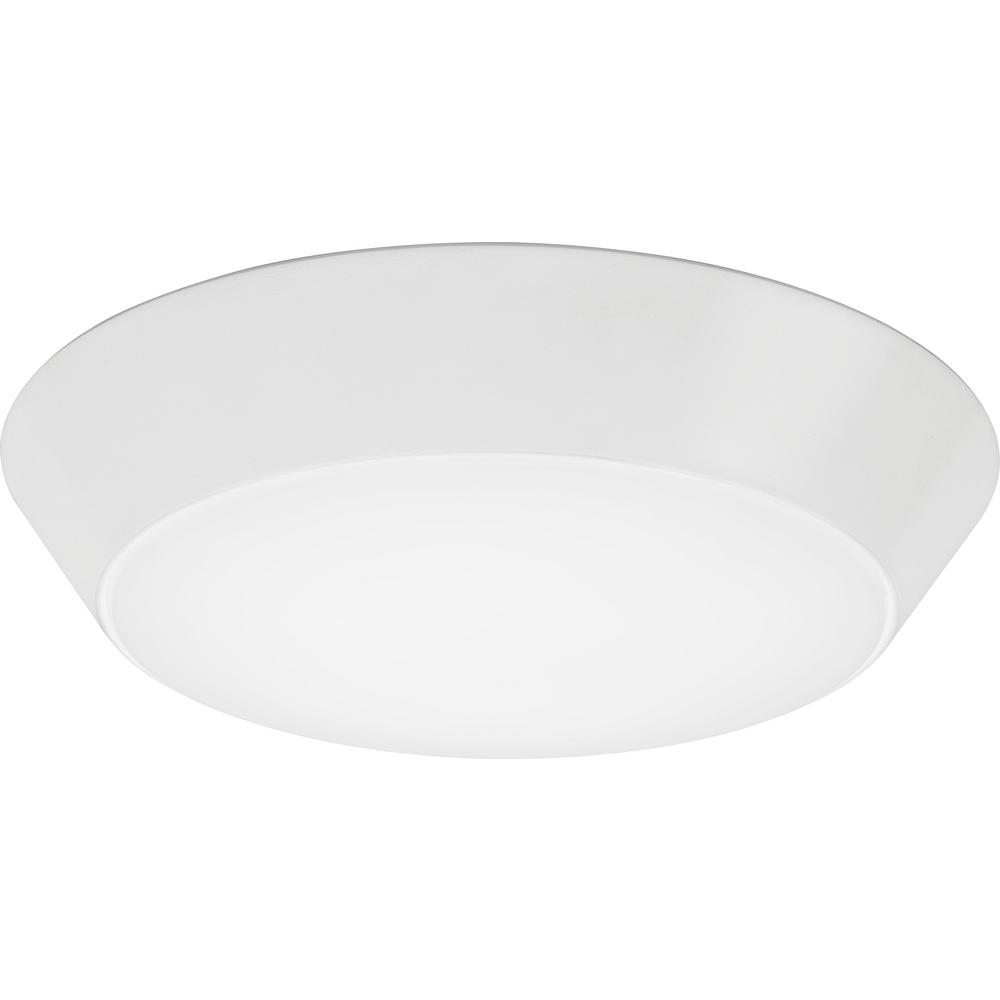 Versi Lite 28 Watt Textured White Integrated Led Flushmount