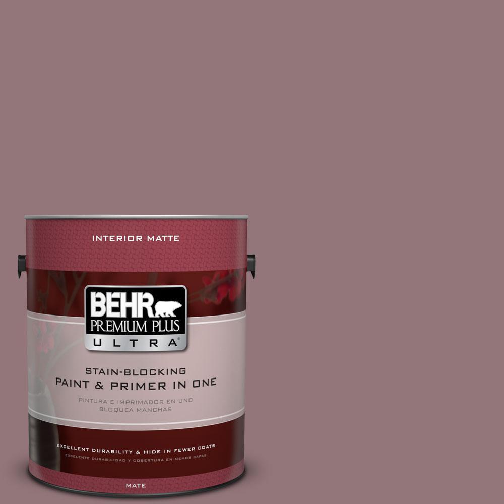 1 gal. #N120-5 Plumville Matte Interior Paint