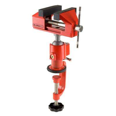 2.25 in. Jaw Universal Table Vise with Swivel Base